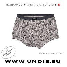UNDIS www.undis.eu die bunten, lustigen und witzigen Boxershorts & Unterhosen für Männer, Frauen und Kinder. Handgemachte Unterwäsche - ein tolles Geschenk! #geschenkideenfürkinder #geschenkefürkinder #geschenkset #geschenkideenfürfrauen #geschenkefürmänner #geschenkbox #geschenkideen #geschenkidee #shopping #familie #diy #gift #children #sewing #handmade #männerboxershorts #damenunterwäsche #schweiz #österreich #undis Funny Underwear, Lace Shorts, Casual Shorts, Women, Fashion, Gift Ideas For Women, Men's Boxer Briefs, Guy Gifts, Guys