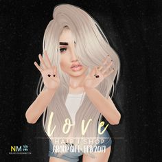 Love Hair Group Gift February 2017 Love Hair has created a new hair texture line. A group gift is now available in notices with that very new texture line. So…