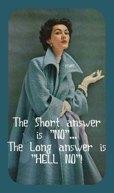 Retro Humor, Vintage Humor, Retro Funny, Vintage Funny Quotes, Quotes Funny Sarcastic, Funny Memes, Hilarious, Jokes, Anne Taintor