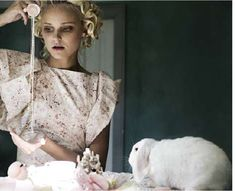 52 Fairytale Fashion Shoots - From Mad Hatter Mistresses to Red Riding Hood Editorials (CLUSTER)#20