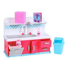 Shopkins Series 6 Sparkle Clean Washer Playset