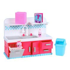 Shopkins Series 6 Sparkle Clean Washer Playset