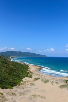 Kenting National Park scenic views. Read our guide to visiting this southern part of Taiwan: http://mytanfeet.com/taiwan/kenting-national-park-taiwan/