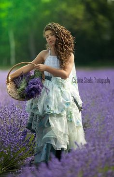 ~In the lavender field~