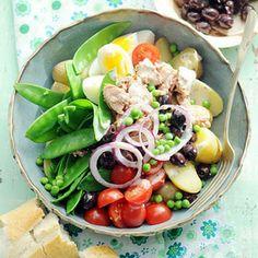 Recept - Ni�oise met peultjes en tuinerwten - Allerhande