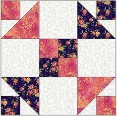 Reflections - free block pattern