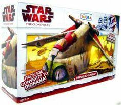 Star Wars, Clone Wars Republic Gunship Bomber