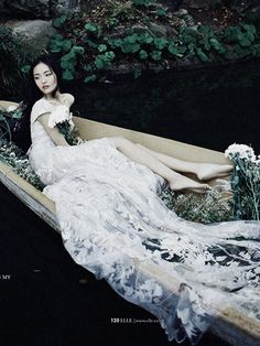 """""""Floral Dreams"""" by Bobby Nguyen for Elle Vietnam January 2013"""
