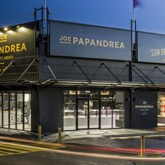 Joe Papandrea Quality Meats & Son of a Butcher – Innocon Carnicerias Ideas, Meat Store, Meat Delivery, Butcher Shop, Himalayan Salt, Commercial Kitchen, Brick Wall, Sons, Store