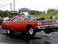 1969 Plymouth Roadrunner jumpin' by osubuckialum, via Flickr
