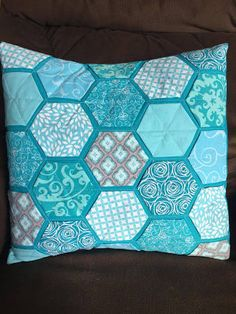 english paper piecing pillow - Google Search