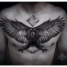 Águia de duas cabeças – Fotos de Tatuagens