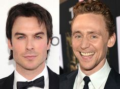 Tom Hiddleston is up for E's 2013 celebrity of the year! Voting ends 30 December. He's running against Ian... hense the combined pic. I tried to make it just Tom. But just look at that smile. How would he NOT win everything ever?
