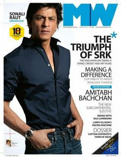 SRK - MW magazine cover