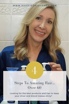 How to Care for Your Long Hair Over 60 | Sharing A Journey
