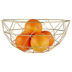 Bring decadence and style into your home with this wire basket. Perfectly pile up your favourite fruits and pop it on the centre of your benchtop, or...