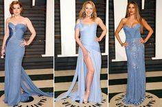 Amy #Adams, Kylie #Minogue and Sofia #Vergara (#Oscars 2015 Vanity Fair party)