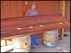 Attirant Bar Top Idea | Our Dream Tiki Bar | Pinterest | Tiki Bars, Basements And  Decking