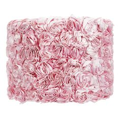 Rose Shade - this would be so pretty on a lamp in a pink girl's room!