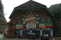 Black Forest Cuckoo Clock, Germany: Apr. 2012