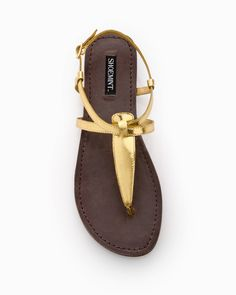 gold sandals <3