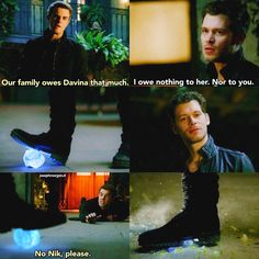 "#TheOriginals 4x11 ""A Spirit Here That Won't Be Broken"" - Klaus and Kol"