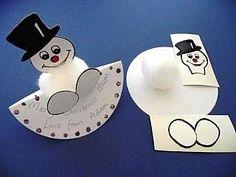 Snowman Crafty Rocker Bug Kit - Makes 30, Christmas Crafts by Theme, Snowmen Crafts, childrens crafts, children's craft supplies