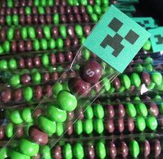 Minecraft Creeper Treat Bags - set of 12 on Etsy, $8.75 AUD