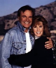 "Taken during filming of the 1993 movie, ""Hart To Hart Returns"""