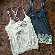 Selling this Hollister Tanks in my Poshmark closet! My username is: shann12189. #shopmycloset #poshmark #fashion #shopping #style #forsale #Hollister #Tops