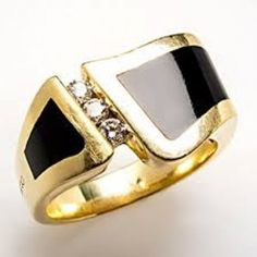 Wavebreaker Ring Large Yellow Gold