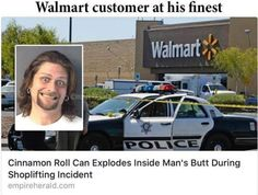 WARNING THIS POST CONTAINS CRAZY HUMAN BEHAVIOR AND DRESS FROM SHOPPERS AT WALMART. Have been saving images of shoppers at Walmart for years now. Seeing millions of you viewed my earlier posts thou… https://beartales.me/2016/04/27/walmartians-april-2016-edition/