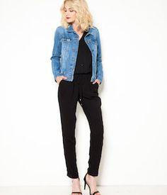 Combinaison pantalon femme fluide