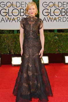 Golden Globes 2014 Dresses – Red Carpet Dresses and Outfits (Vogue.com UK)