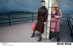 katlin, emily, daphne, georgia, adriana, marina, hind, anne and lindsey by inez & vinoodh for miu miu f/w 13.14   visual optimism; fashion editorials, shows, campaigns & more!