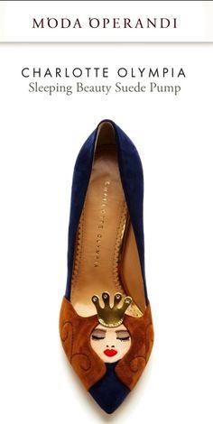 The Sleeping Beauty Shoe has arrived!! A work of pure charm! Love!!