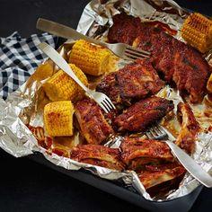 Helpot ribsit   Yhteishyvä Joko, Tandoori Chicken, Chicken Wings, Meat, Dinner, Ethnic Recipes, Dining, Food Dinners