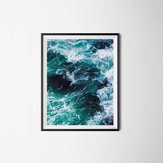 Ocean print ocean wall art ocean photography water print