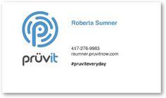 Pruvit Business Cards - Business Cards - Custom Print