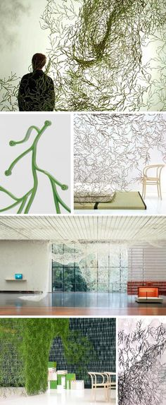 Ronan and Erwan Bouroullec Algue - Pack of 25 - Vitra Algues Wall Installation | NOVA68 Modern Design