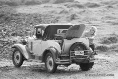 vintage 1929 Chevy & vintage surfboards, King Island,  Tasmania