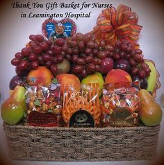 Thank you gifts for nurses at the hospital gift ideas pinterest thank you gift basket for nurses at leamington hospital solutioingenieria Gallery
