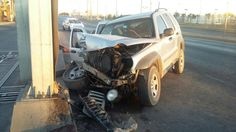 Fuerte choque deja a 4 lesionados frente a la planta Ford | El Puntero