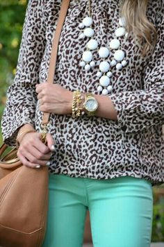Love it with light blue pants with white