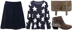 ANNAWII ♥ - TAUPE AND NAVY
