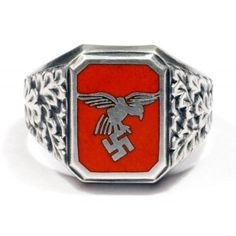 German WWII Luftwaffe Flieger's ring