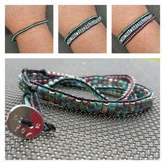 Bracelet wrap 3 rangs