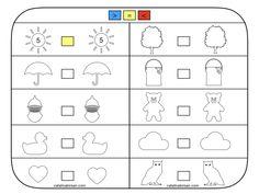 Compararea numerelor. 6 fise, completate si necompletate. – Catalina Bîrsan Word Search, Diagram, Words, Blog, Horse