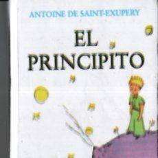 EL PRINCIPITO - ANTOINE DE SAINT EXUPERY - EJEMPLAR DIMINUTO