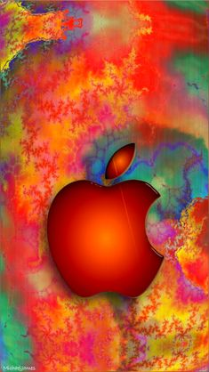 Download Fractal Candy-01 640 x 1136 Wallpapers - 4610760 - Logo Apple Fractal iPhone | mobile9